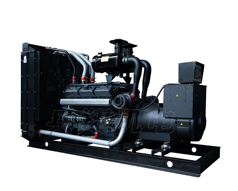 600KW上海乾能柴油发电机组