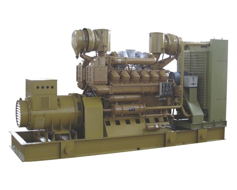 1000KW济柴发电机组