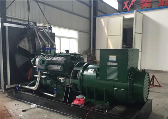 重庆盈丰地产订购800kw自动化发电机组