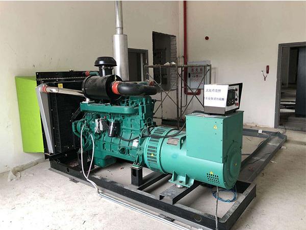 北威科技订购一台350KW乾能发电机组