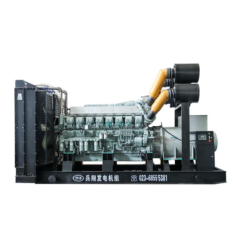 1500kw上海菱重柴油发电机组