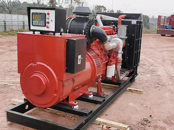 400KW玉柴发电机用于工地施工