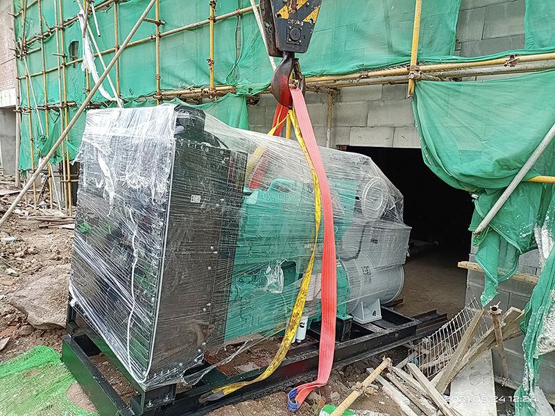 500KW康明斯配英格电机合川项目